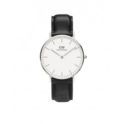 Daniel Wellington 0608DW Classic Sheffield Dameshorloge 36 mm Zwart