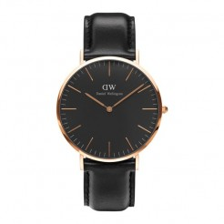 Daniel Wellington DW00100127 Classic Black Sheffield Dameshorloge 40 mm Zwart