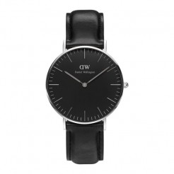 Daniel Wellington DW00100145 Classic Black Sheffield Dameshorloge 36 mm Zwart