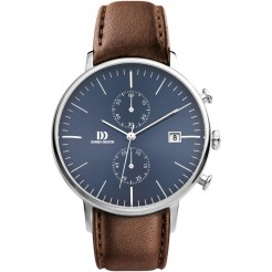 Danish Design Steel Blue IQ42Q975 Herenhorloge