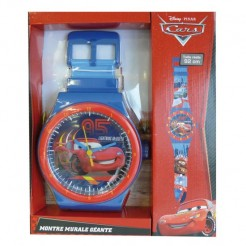 Disney Cars Kinderhorloge Blauw