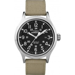 Timex Expedition Scout Tan T49962SU Unisex Horloge